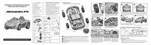 Clbbocar Mclaren P1 Battery Operated Car User Manual Chi Lok Bo Toys Company Limited