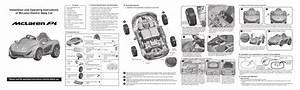 Clbbocar Mclaren P1 Battery Operated Car User Manual Chi