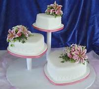 Heart Shaped Wedding Cakes Pictures by Cakes For 50th Anniversary On Pinterest 50th Anniversary Cakes Heart Shape