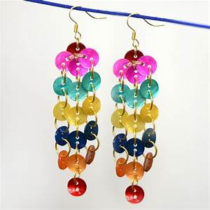 How To Make Button Earrings  28 Interesting Diys And Ideas