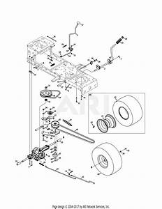 Mtd 13ac76lf031  Lt3800   2011  Parts Diagram For