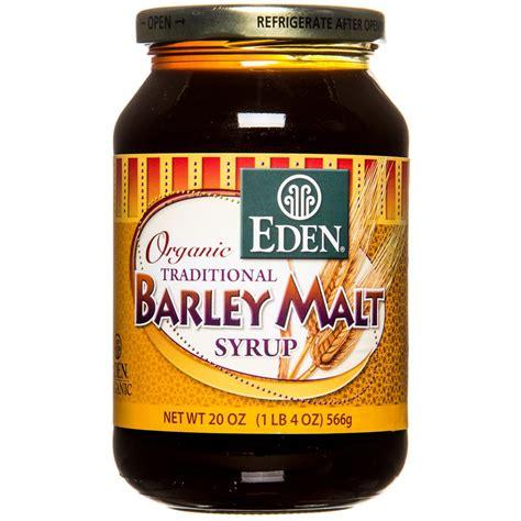 4.1 out of 5 stars 10. Eden Foods - Barley Malt Syrup - Azure Standard