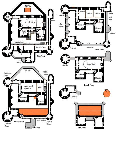 chateau floor plans modern mini castle house plans floorplans