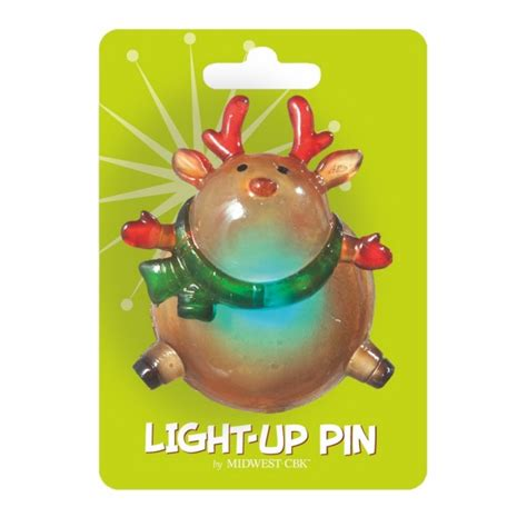lighted christmas pins