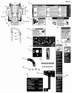 Simplicity 5901492   61 U0026quot  Mower Deck  U0026 R O P S Parts Diagram