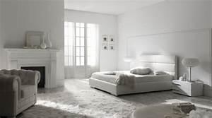 Schlafzimmer Ideen Weiß : minimalismus zu hause einladen ideen f r modernes schlafzimmer in wei ~ Michelbontemps.com Haus und Dekorationen