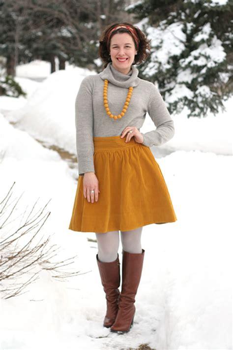Mustard Skirt | Dressed Up Girl