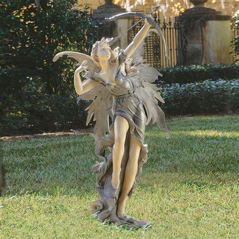 shop design toscano rhiannon the archer fairy 48 5 in
