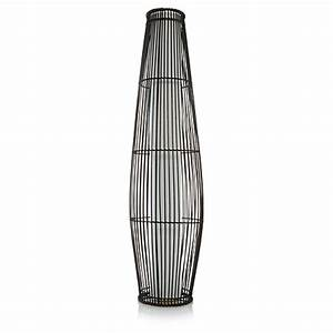 George home rattan floor lamp lighting asda direct for Floor lamp asda