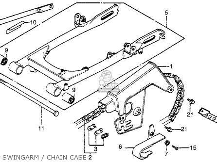 honda xr100 1983 d usa parts list partsmanual partsfiche
