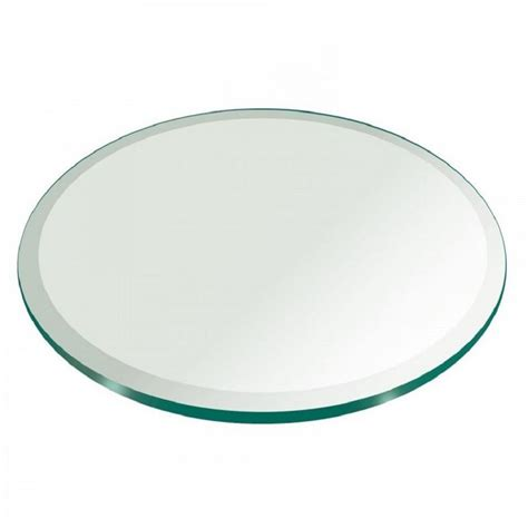 22 round glass table top fab glass and mirror glass table top 22 in round 1 2 in