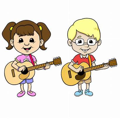 Guitar Clipart Instruments Playing Children Musical Yelp
