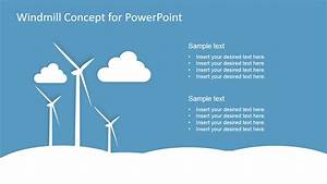 Windmill Concept Design For Powerpoint