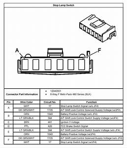 1992 Chevy Truck Brake Light Switch Wiring Diagram