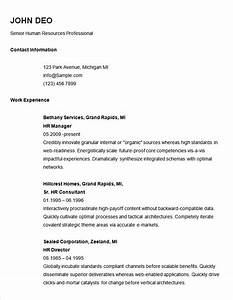 70 basic resume templates pdf doc psd free With easy professional resume template