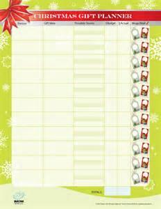 money saving christmas gift planner imom