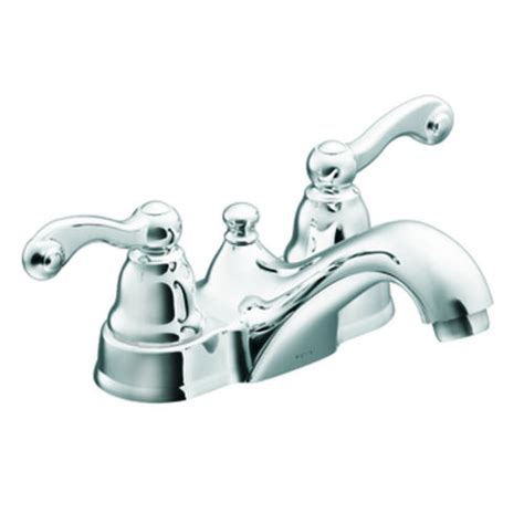 menards 4 bathroom faucets moen traditional 2 handle low arc bathroom faucet