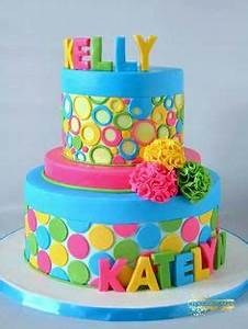1000 images about Neon cakes on Pinterest