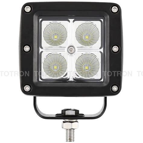 3 inch led lights cube series led lights 3 inch 16w flood beam led driving