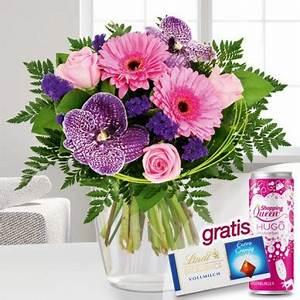 Blumen Im Juli : blumenstrau orchideenromanze mit lindt schokolade hugo ~ Lizthompson.info Haus und Dekorationen