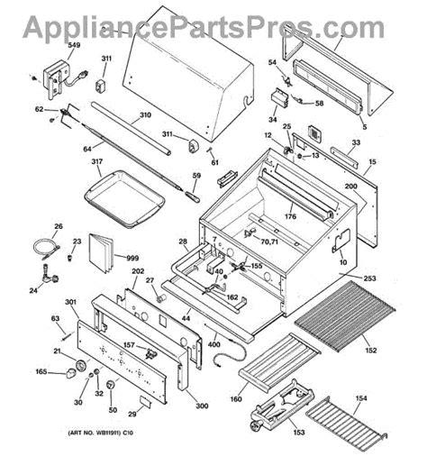 parts  ge zgglcss gas grill parts appliancepartsproscom