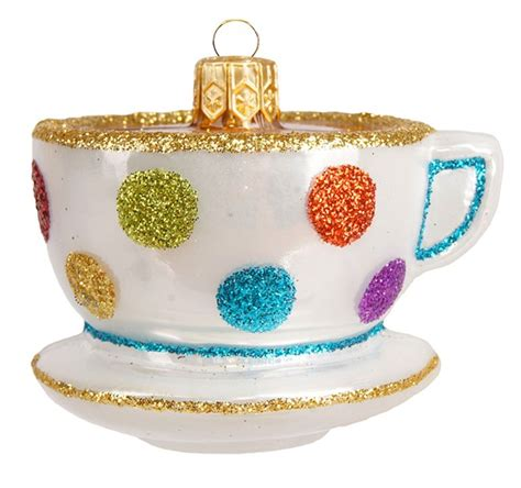 ornament gift guide teacup
