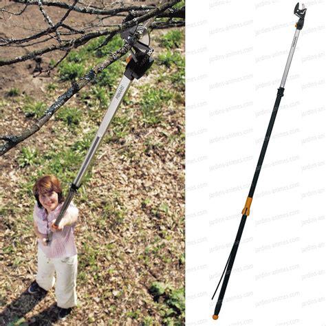 coupe branches multifonctions t 233 lescopique 6 50m fiskars taillanderie ciseau cisaille