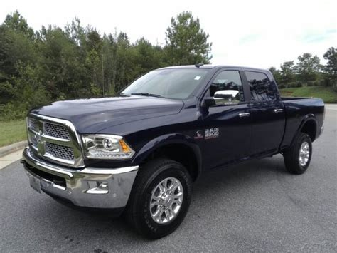 New 2018 Dodge Ram 2500 4wd 4dr Laramie Cummins Diesel