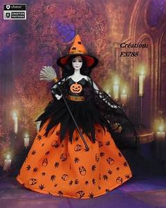 robe barbie quot halloween n10 quot vetement sorciere d With robe pour halloween
