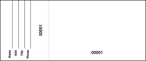 blank raffle ticket template create raffle or event tickets in microsoft word