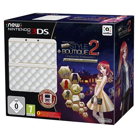 Nintendo New 3ds (blanche) + La Maison Du Style 2  Les Reines De La Mode  Console Nintendo 3ds