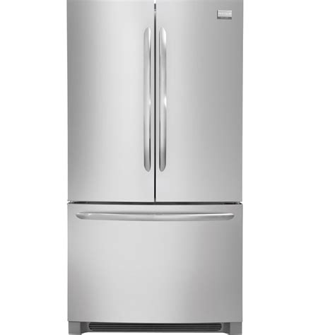 shop frigidaire gallery 22 6 cu ft counter depth french