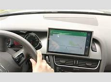 Android 60 navigation platform for Audi B8Concert