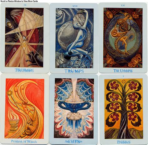 thoth deck the tarot garden library thoth comparison table