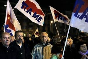 Protests in Greece Against Government's New Austerity ...