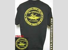 3RD ANGLICO TSHIRT MILITARY USMC NEW BLACK THICK T
