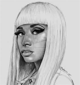 Pencil Drawing Of Nicki Minaj | www.pixshark.com - Images ...