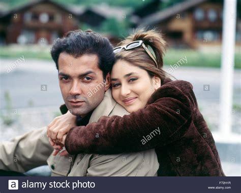 Indian Film Actor And Actress, Bobby Deol And Kareena