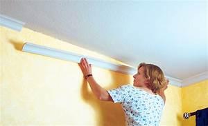 Streichen Decke Wand übergang : deckenprofile zuschneiden und anbringen wohnen deko ~ Eleganceandgraceweddings.com Haus und Dekorationen