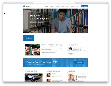 versita minimanl education wordpress theme web hosting