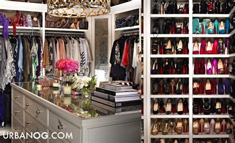 Urbanogcom Blog Inside Kim And Khloe Kardashian's Closet