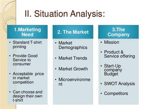 situational analysis template marketing situation analysis exle hosts corporate toronto