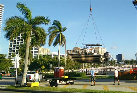Address Of Palm Beach Boat Show by Palm Beach International Boat Show Prep Has Started On