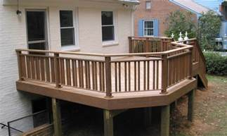 deck railing ideas wood wooden terrace fence beautiful addition to every house