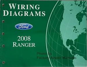 2008 Ford Ranger Truck Electrical Wiring Diagrams Original