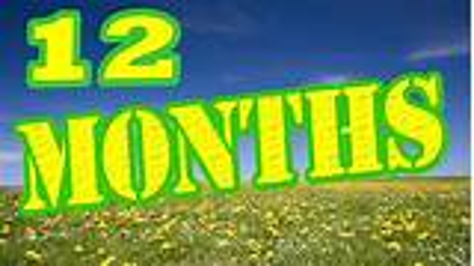 Months of the Year Song - 12 Months of the Year Song ...