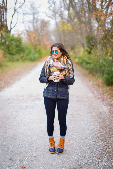 Quilted Plaid A Southern Drawl Winter Outfits Bean