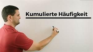 Kumulierte Häufigkeit Berechnen : kumulierte kumulative h ufigkeit anschaulich stochastik wahrscheinlichkeit youtube ~ Themetempest.com Abrechnung
