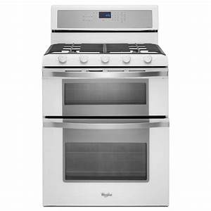 White - Whirlpool - Double Oven Electric Ranges - Electric ...