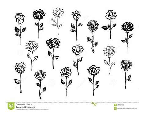 simple rose tattoo drawing design  alyx wilson